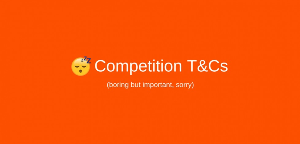Competition Ts&Cs Banner
