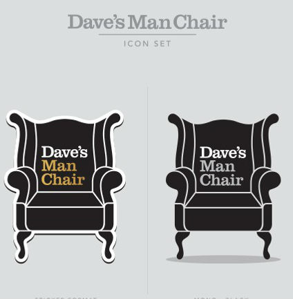 Dave Chair Advert