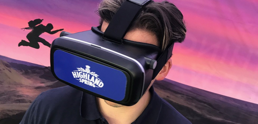 Virtual Reality Highland Spring VR