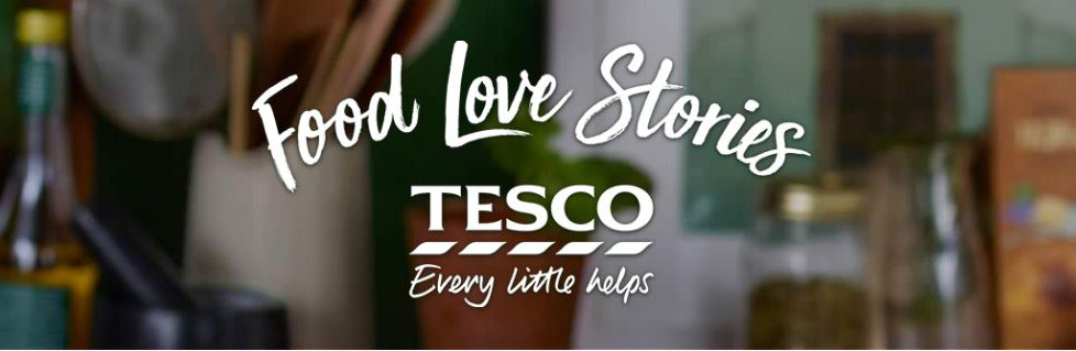 Tesco Food Stories Banner