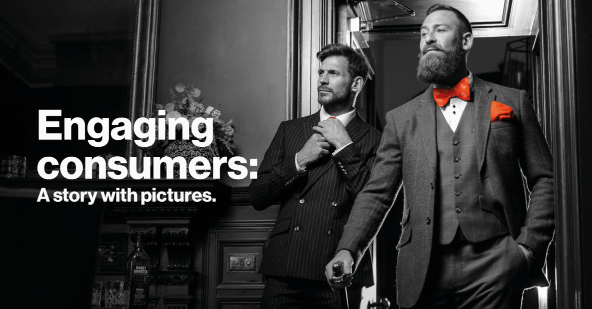 Engaging consumers: A story with pictures.