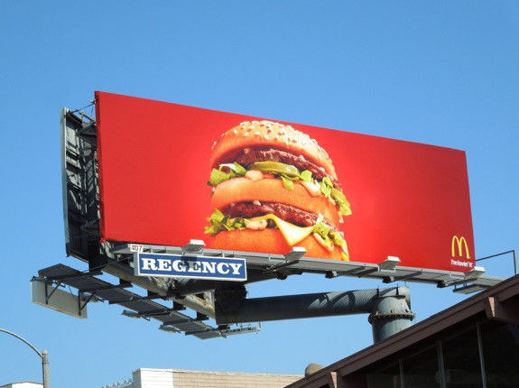 McDonald's Big Mac Advertising Billboard